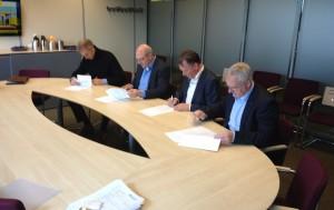 Overeenkomsten voor bouw BS Dwingeloo getekend.
