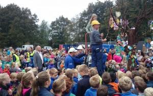Hoogste punt viering MFA Westerbork